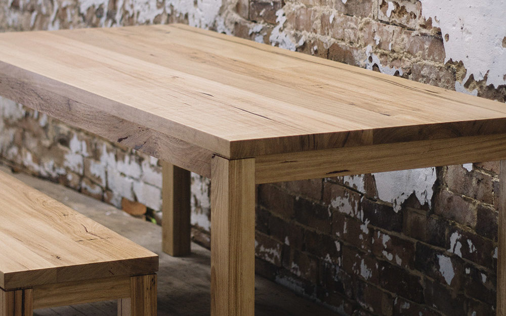 Chestnut Table Feature